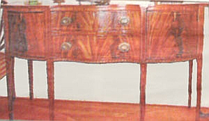 Federal Style Antique Sideboard