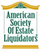 Logo for the American Society of Estate Liquidators