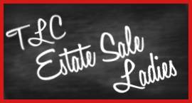 sign of Estate Sale by TLC